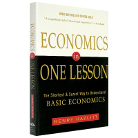 英文原版 一课经济学 Economics in One Lesson 英文版The Shortest and Sure