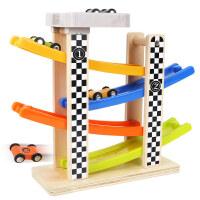男孩特宝儿6层滑翔轨道车小汽车玩具男孩女宝宝1-2-3-4周岁模型轨道 益智启蒙早教
