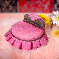 首饰盒韩国创意芭比公主床沙发梳妆台欧式饰品盒绒布节庆礼品 圆床 赠送木梳子