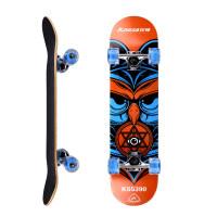 四轮滑板 双翘板公路板刷街板枫木板滑板滑板车