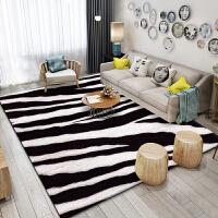 北欧客厅地毯沙发茶几垫子简约现代卧室床边地垫满铺可爱房间家用j 浅灰色 xy-1001
