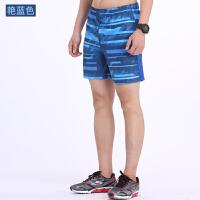 速干跑步运动短裤男夏季薄透气健身短裤田径训练羽毛球宽松三分裤
