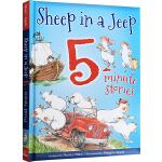 廖彩杏书单英文原版绘本 Sheep In A Jeep/Sheep in a Shop 8个故事精装合辑 韵文 小羊向
