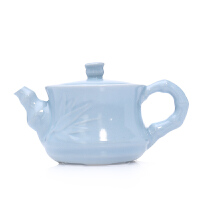 唐丰汝窑茶壶陶瓷壶汝瓷开片单泡过滤茶壶小号办公家用功夫茶具