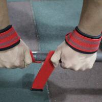 防滑握力单杠引体向上硬拉借力健身手套男举重力量训练一字助力带