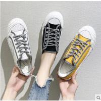 新款小白鞋子女潮鞋帆布鞋学生网红百搭ulzzang板鞋
