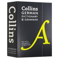 柯林斯德语词典及语法 英文原版 Collins German Dictionary and Grammar 德语英语双语