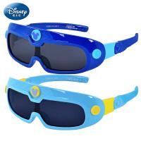 迪士尼儿童太阳镜男童墨镜 学生防紫外蛤蟆镜太阳眼镜偏光太阳镜W