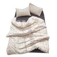水洗棉棉四件套床品 北欧简约风格棉床单款4件套床上用品