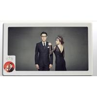 婚纱照水晶相框60寸结婚照像框放大洗照片制作挂墙全家福创意