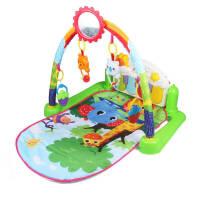 婴儿健身架器脚踏钢琴新生儿宝宝玩具音乐盒摇铃0-1岁3-6-12个月礼物玩具 婴儿脚踏钢琴健身架