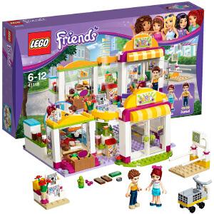 [当当自营]LEGO 乐高 好朋友系列 心湖城超级市场 积木拼插儿童益智玩具 41118