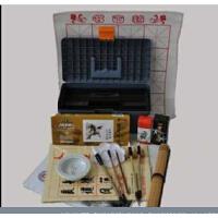 马利国画颜料工具17件套装 笔墨纸砚 书法毛笔练习