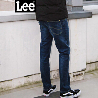 Lee男装 2017秋冬新品加厚中腰直脚水洗牛仔裤 L127262VA7EJ