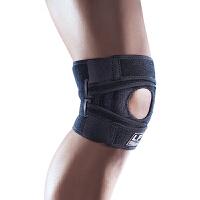 LP欧比运动护膝高透气加强型膝盖护套533CA 户外骑行跑步运动护具