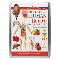 Wonders of Learning Discover the Human Body 发现人体奥秘铁盒套装 英文原版