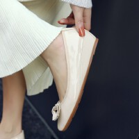 O'SHELL欧希尔新品011-D09-7025韩版坡跟女士单鞋