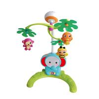 大象床铃 益智安抚 迪迪兔婴儿床头 音乐旋转床铃摇铃床挂新生儿玩具礼盒 0-1岁