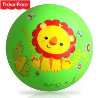 费雪(Fisher-Price) 宝宝9寸充气弹力拍拍球训练球儿童拍打球小皮球玩具