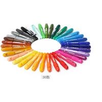 宝宝画笔儿童彩色笔绘画蜡笔套装幼儿园安全12色可水洗36桶装