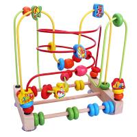 大号婴幼儿儿童绕珠串珠10-11个月宝宝积木智力玩具0-1-2-3岁