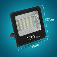 led投光灯户外防水广告投射灯1000W远程强光工程工地照明灯探照灯 1