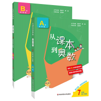 正版 从课本到奥数七年级第二学期AB版上下册 初中精讲与测试数学思维训练初一教材同步奥数教程举一反三培优练习册数学解题技