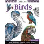 【预订】Tangleeasy Birds: Design Templates for Zentangle(r), Co