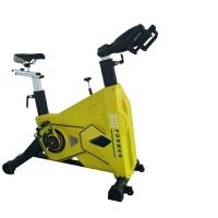 健身房动感单车静音室内健身器材商用加重运动自行健身车 黄黑色