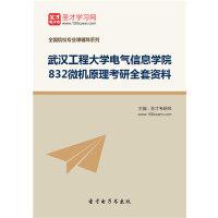 2019年武汉工程大学电气信息学院832微机原理考研全套资料/832 武汉工程大学 电气信息学院/832 微机原理考研