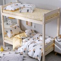 单人床大学生宿舍床上三件套3床单被套寝室被褥套装六件套6