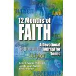 【预订】12 Months of Faith: A Devotional Journal for Teens