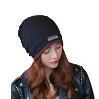 慈颜孕妇帽加边款帽子女秋冬季套头帽双层月子帽纯色产妇堆堆帽CY1201