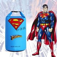 超人闪电蝙蝠侠户外防水袋防水包游泳收纳袋旅行浮潜背包漂流桶包