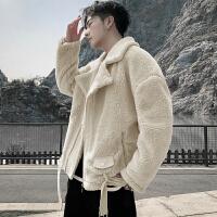 冬装2019新款棉衣男冬季羊羔绒棉服加绒加厚袄子冬天棉袄男外套