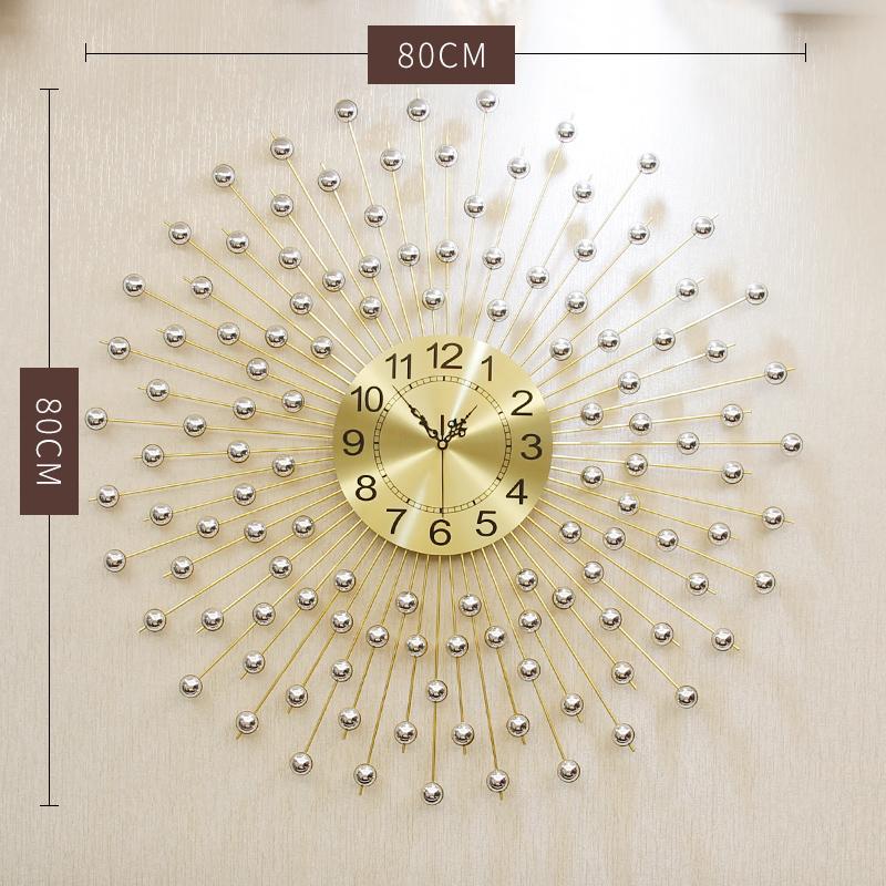 挂钟客厅个性创意时尚潮流钟表现代简约大气石英钟时钟北欧家用表SN8541  20英寸以上
