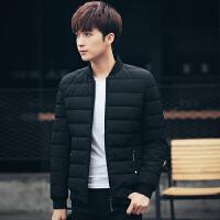棉衣男士韩版修身加厚棉袄青少年冬季新款短款潮流休闲装外套