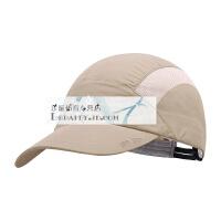 牧高笛户外男士潮旅行夏季防晒透气速干遮阳棒球帽太阳帽鸭舌帽子 均码