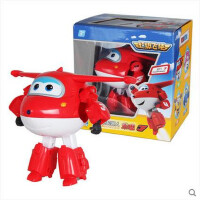 奥迪双钻超级飞侠玩具乐迪酷飞 新款米莉 大号益智变形飞机机器人套装全套
