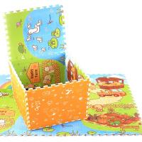 开心农场乐扣垫瑜伽健身玩具 加厚泡沫地垫宝宝儿童拼图拼接 婴儿爬行垫