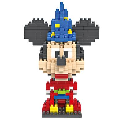 米奇魔法师装乐高式积木汽车积木创意拼装玩具9420颗粒搭钻石动画图片