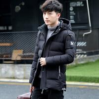 14青少年13初中学生15岁男孩子18棉衣中长款16连帽17冬装外套