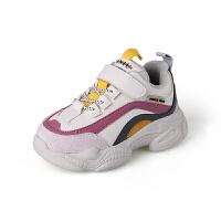 女童运动鞋秋冬款新款男童鞋儿童加绒棉鞋