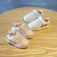 男童女童婴儿学步鞋软底单宝宝鞋子防滑运动鞋板鞋