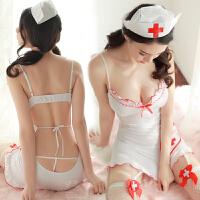 性感服小胸护士制服诱惑透视夜店包臀兔女郎激情套装sm骚 ,网袜 均码