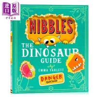 【中商原版】啃书小黄怪尼宝 恐龙指南 英文原版 Nibbles The Dinosaur Guide