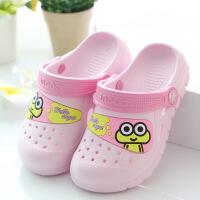 儿童洞洞鞋夏季卡通沙滩鞋男女童凉拖鞋宝宝花园鞋防滑款酷趣