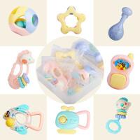 手摇铃玩具礼品0-3-6-8-12个月宝宝0-1岁摇铃牙胶