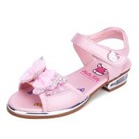 Hello Kitty童鞋儿童凉鞋公主鞋女童夏新中大童韩版沙滩凉鞋