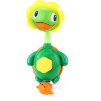 宝宝洗澡玩具儿童浴室沐浴戏水小海龟喷水婴幼儿玩耍益智花洒玩具 小海龟花洒